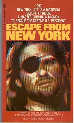 9780552118262: Escape from New York