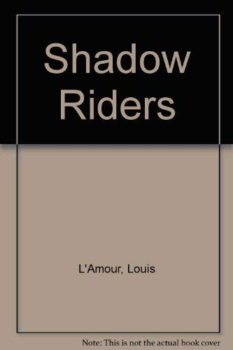 9780552121545: Shadow Riders