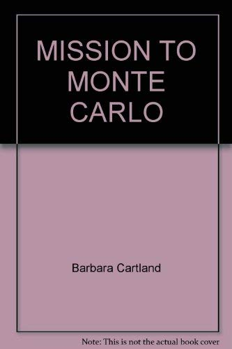 9780552122474: MISSION TO MONTE CARLO