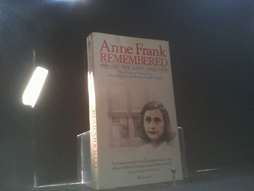 9780552132541: Anne Frank Remembered