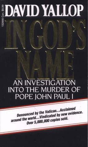 9780552132886: In God's Name: An Investigation into the Murder of Pope John Paul I