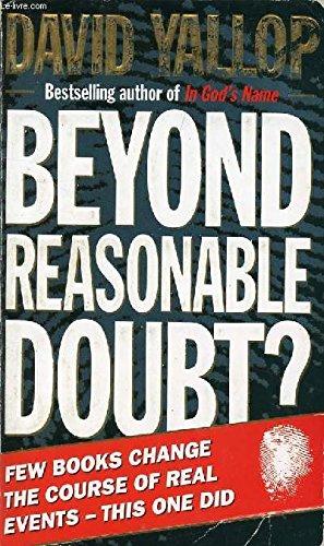 9780552134538: Beyond Reasonable Doubt