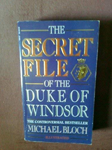 9780552135122: The Secret File of the Duke of Windsor