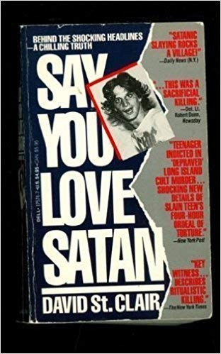 Say You Love Satan (0552135321) by David St.Clair