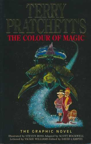 Terry Pratchett's 'The Colour of Magic' -: ROSS, Steven (Illustrations)