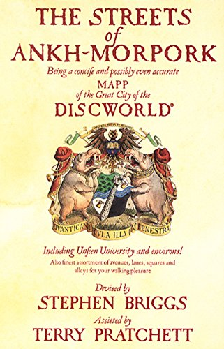9780552141611: The Streets Of Ankh-Morpork: Being a Concife and Possibly Even Accurate Mapp of the Great City of the Discworld : Including Unfeen University and Environs! ...