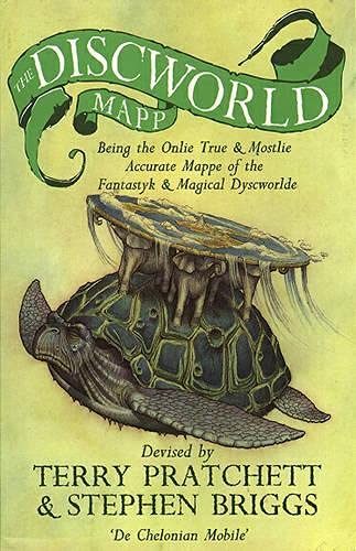 9780552143240: The Discworld Mapp
