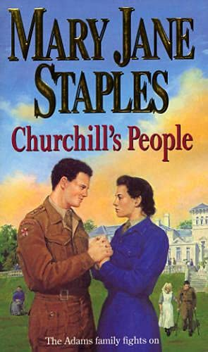 9780552146579: Churchill's People (The Adams Family)