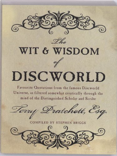 9780552155380: The Wit and Wisdom of Discworld