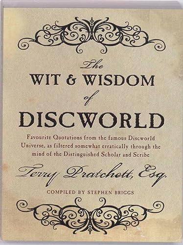 9780552155380: The Wit & Wisdom of Discworld