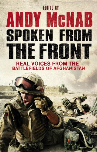 9780552160803: Spoken From the Front: Real Voices from the Battlefields of Afghanistan