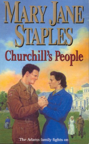 9780552163743: Churchill's People: An Adams Family Saga Novel (The Adams Family)
