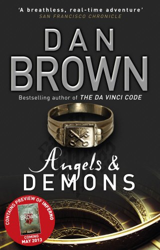 9780552170000: Angels & Demons + 16 Page Inferno Teaser (Robert Langdon)