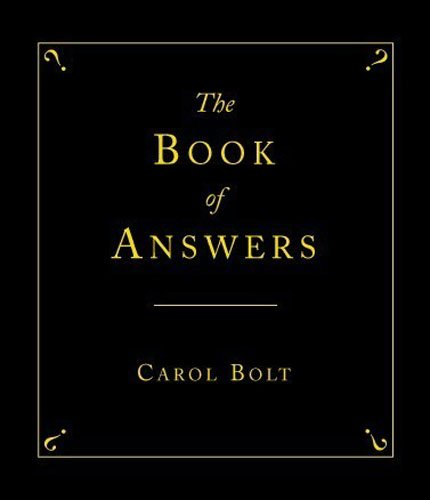 9780552211000: Book of Answers, The