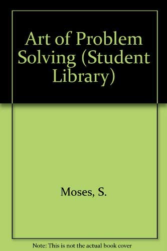 9780552400152: The art of problem-solving (Transworld student library)