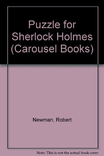 9780552521390: A Puzzle For Sherlock Holmes
