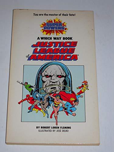 Justice League of America (Carousel Books)