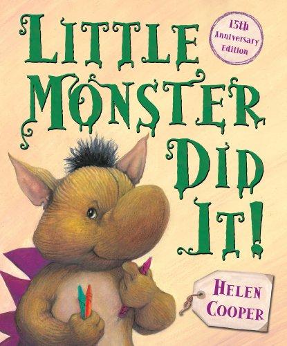 Little Monster Did It!: Helen Cooper
