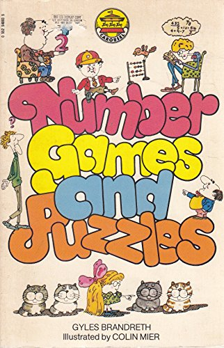 9780552540933: Number Games and Puzzles (Carousel Books)