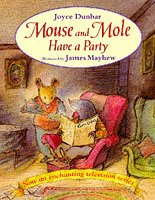 9780552545570: Mouse and Mole Have a Party