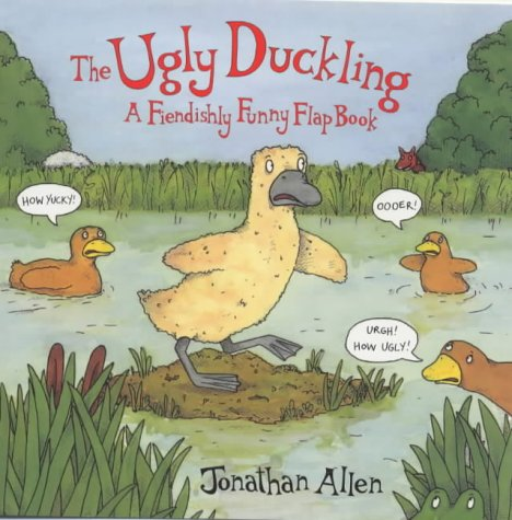 9780552546133: The Ugly Duckling - A Fiendishly Funny Flap Book