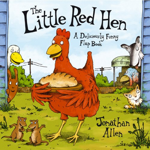 9780552548120: The Little Red Hen: A Deliciously Funny Flap Book