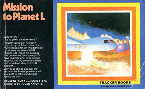 9780552560023: Mission to Planet L (Tracker Books)