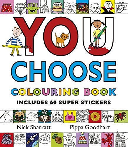 9780552564717: You Choose: Colouring Book with Stickers