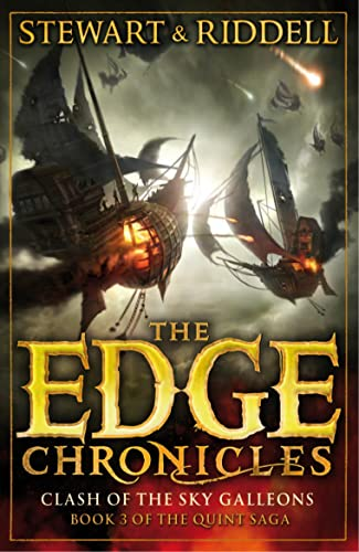 9780552569644: The Edge Chronicles 3: Clash of the Sky Galleons: Third Book of Quint