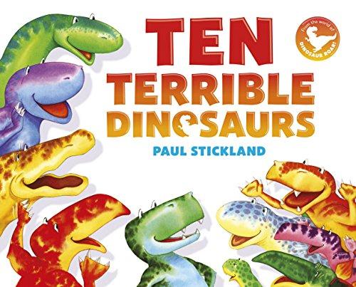 9780552572514: Ten Terrible Dinosaurs (Dinosaur Roar)