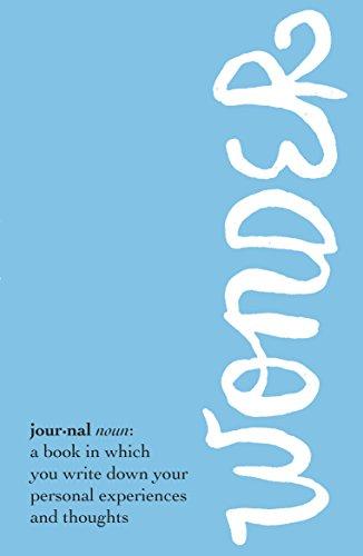 9780552574747: Wonder Journal