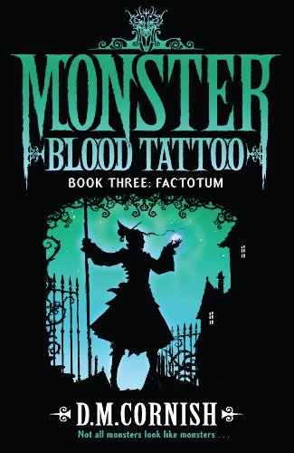 9780552574839: Monster Blood Tattoo: Factotum: Book Three