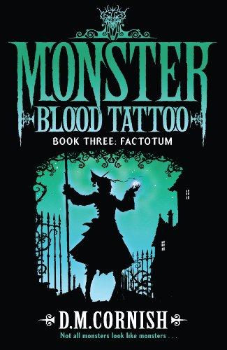 9780552574839: Monster Blood Tattoo: Factotum: Book Three