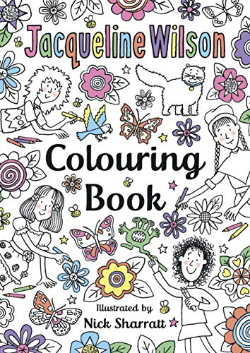 9780552575522: The Jacqueline Wilson Colouring Book