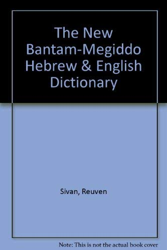 9780552620949: The new Bantam-Megiddo Hebrew & English dictionary