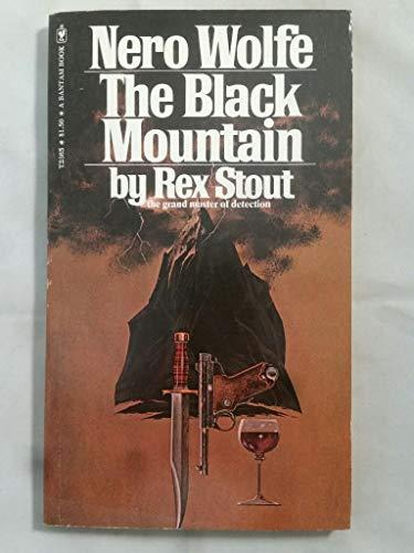 9780552623650: The black mountain: A Nero Wolfe novel