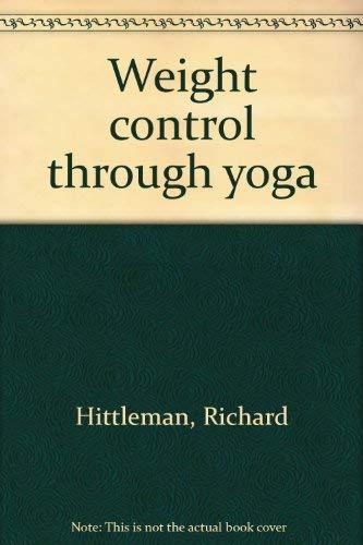 9780552657730: weight control through yoga