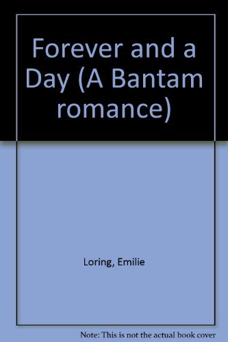 9780552666343: Forever and a Day (A Bantam romance)