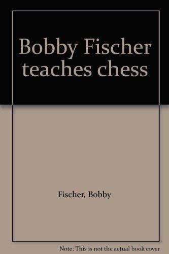 9780552673976: Bobby Fischer teaches chess