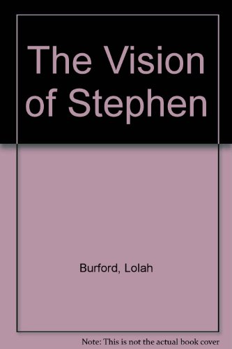 9780552683692: The Vision of Stephen