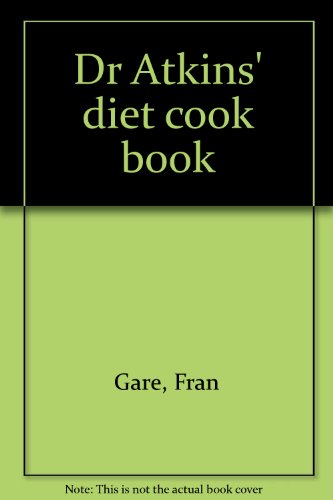 9780552687782: Dr Atkins' diet cook book