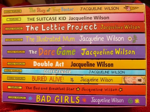 9780552730334: Bad Girls / the Bed and Breakfast Star / Buried Alive! / Cliffhanger / Double Act / the Dare Game / the Illustrated Mum / the Lottie Project / the Suitcase Kid / the Story of Tracy Beaker