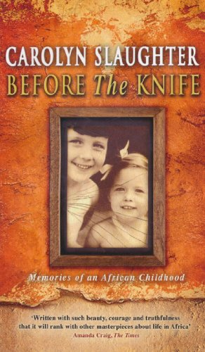 9780552775816: Before the Knife