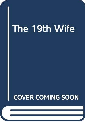 9780552779883: The 19th Wife