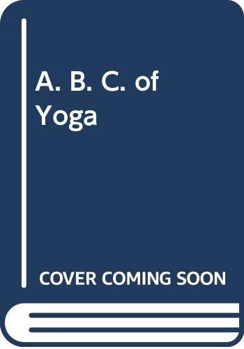 9780552980579: A. B. C. of Yoga