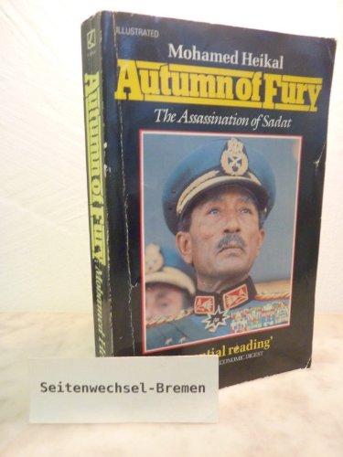 9780552990981: Autumn of Fury: Assassination of Sadat