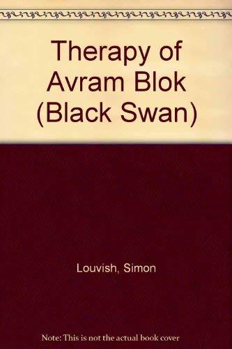 9780552992367: Therapy of Avram Blok (Black Swan)