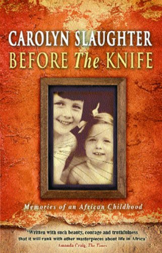 9780552999885: Before The Knife