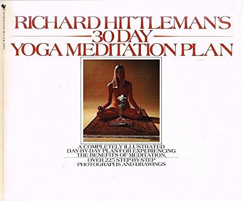 9780553010695: Richard Hittleman's 30 Day Yoga Meditation Plan