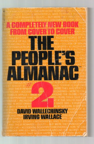 The People's Almanac #2: A Completely New: David Wallechinsky, Irving